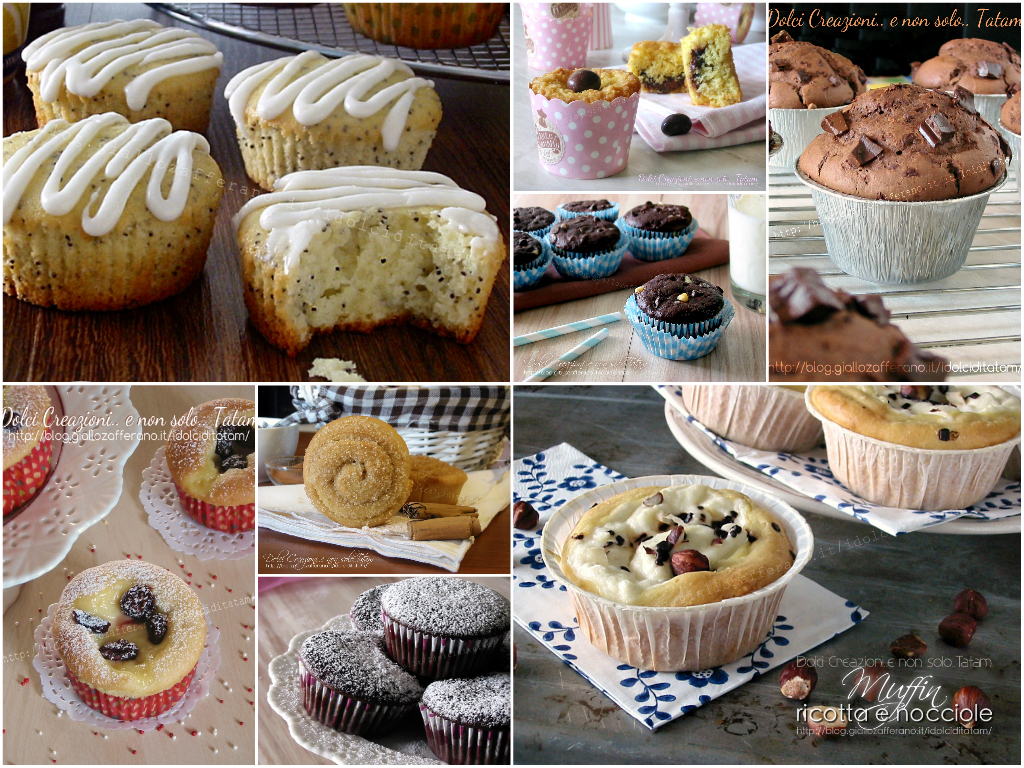 ricette dolci per merenda muffin tartine e dolcetti