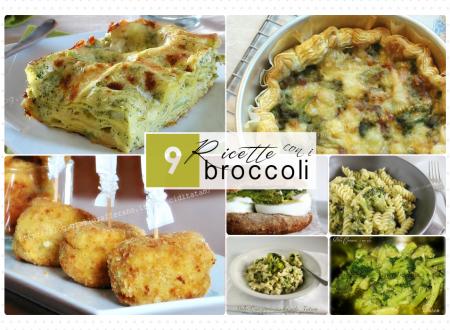 9 Ricette con i broccoli – ricette facili alla portata di tutti!
