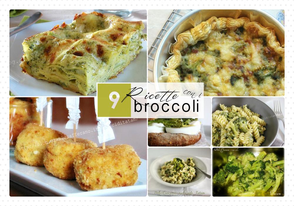 ricette con i broccoli 1000x collage
