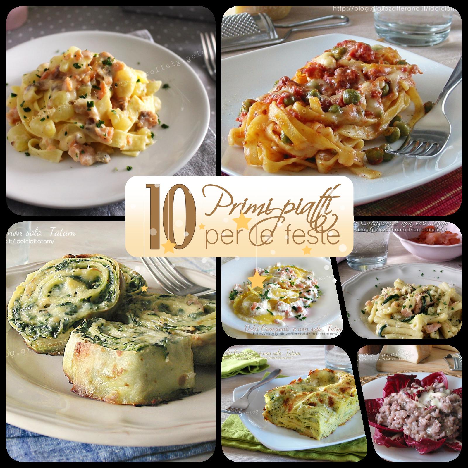 10 primi piatti sfiziosi per le feste di natale raccolta