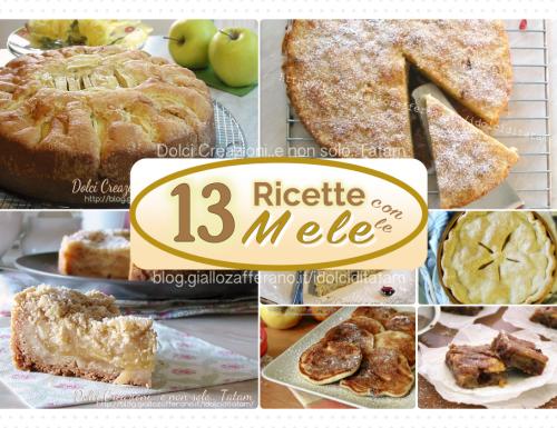 Dolci con le mele – Raccolta di ricette facili e alla portata di tutti!