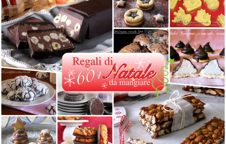 Regali di Natale fai da te da mangiare, più di 60 ricette dolci da regalare