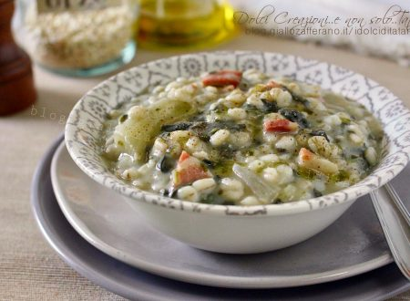 Zuppa di orzo con speck e bietole, ricetta confortevole