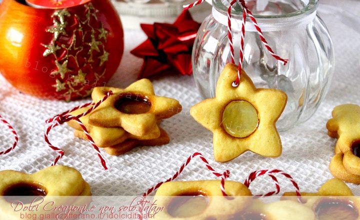 Come fare i Biscotti di vetro per Natale, idea regalo