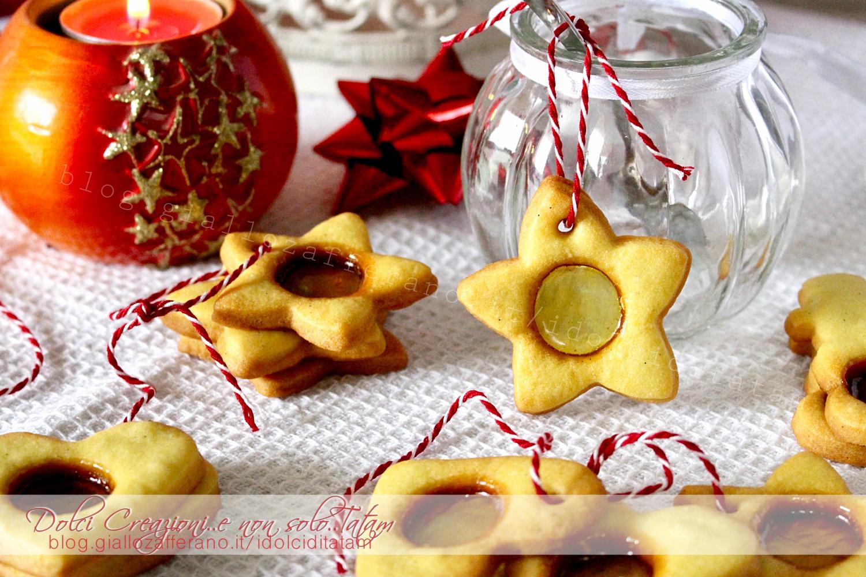 Biscotti Di Natale Effetto Vetro.Biscotti Vetro
