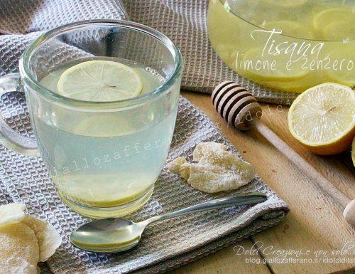 Tisana al limone e zenzero, bevanda gustosa e salutare