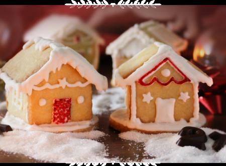 Casette di biscotti decorati con ghiaccia reale
