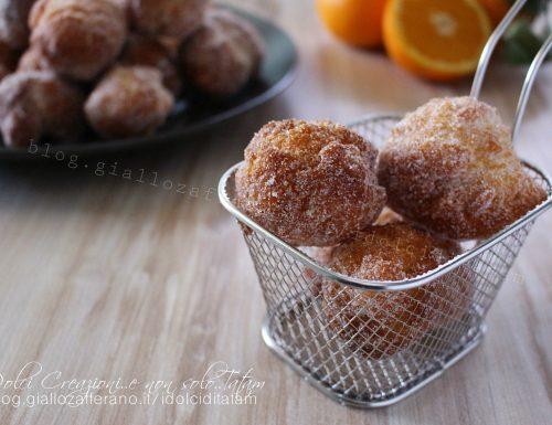 Castagnole ricetta di Carnevale, dolci fritti al sapore di arancia. Con video ricetta
