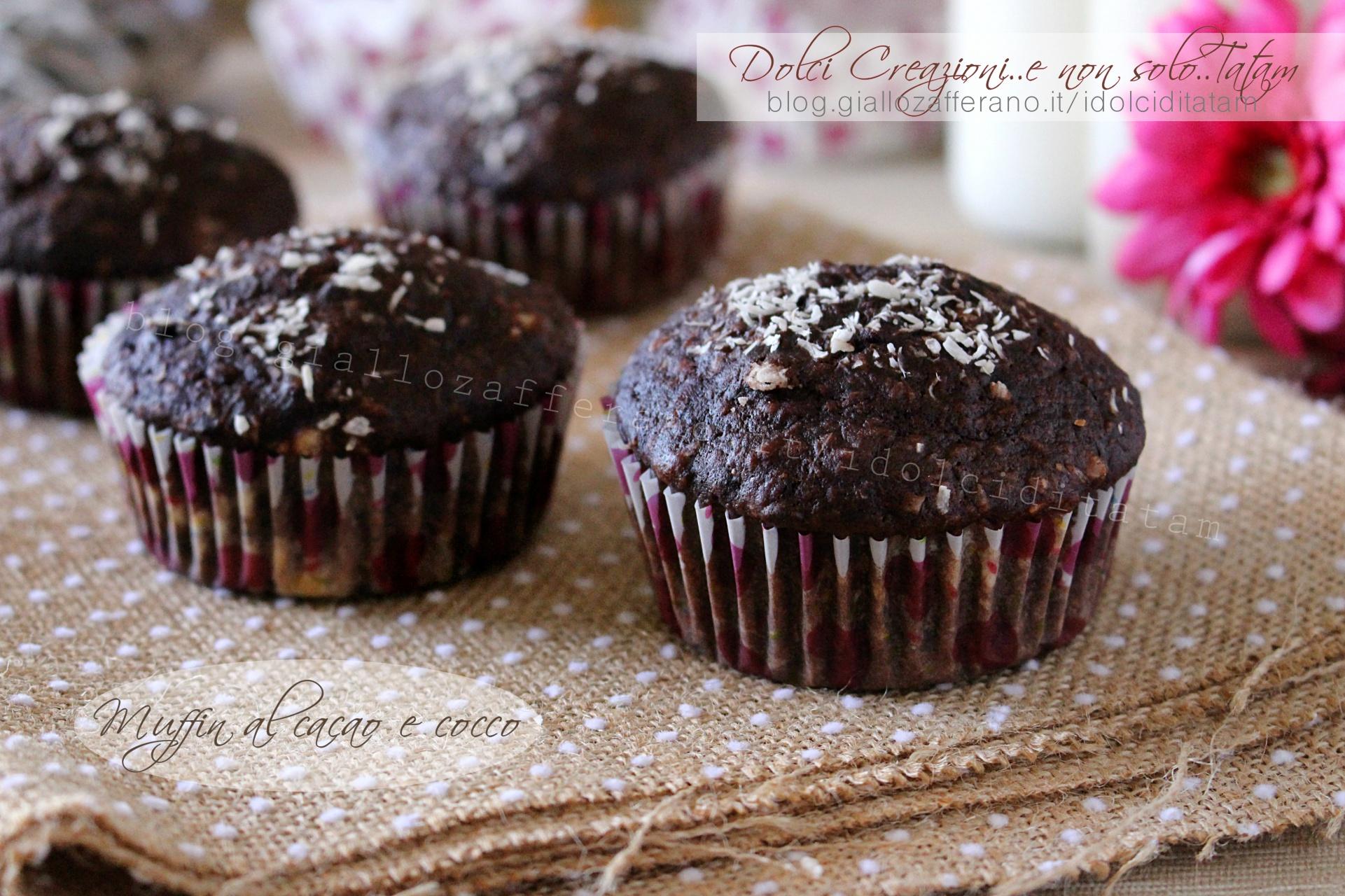 Ricetta Muffin Al Cacao E Cocco Facile E Pronta In Pochi Minuti