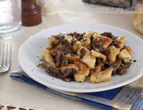 Bocconcini di pollo ai funghi, gustosi e facili da preparare