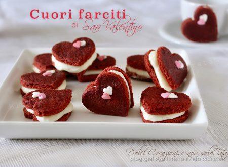 Cuori farciti, biscotti per San Valentino, da regalare alla vostra metà.