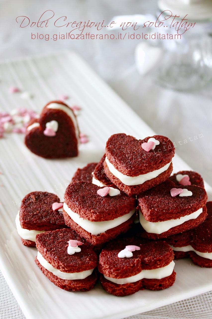 Cuori farciti, biscotti per San Valentino