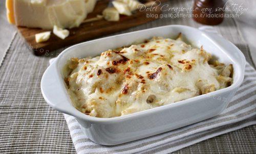 Pasta e cavolfiore gratinati al forno, un primo piatto tutto da gustare