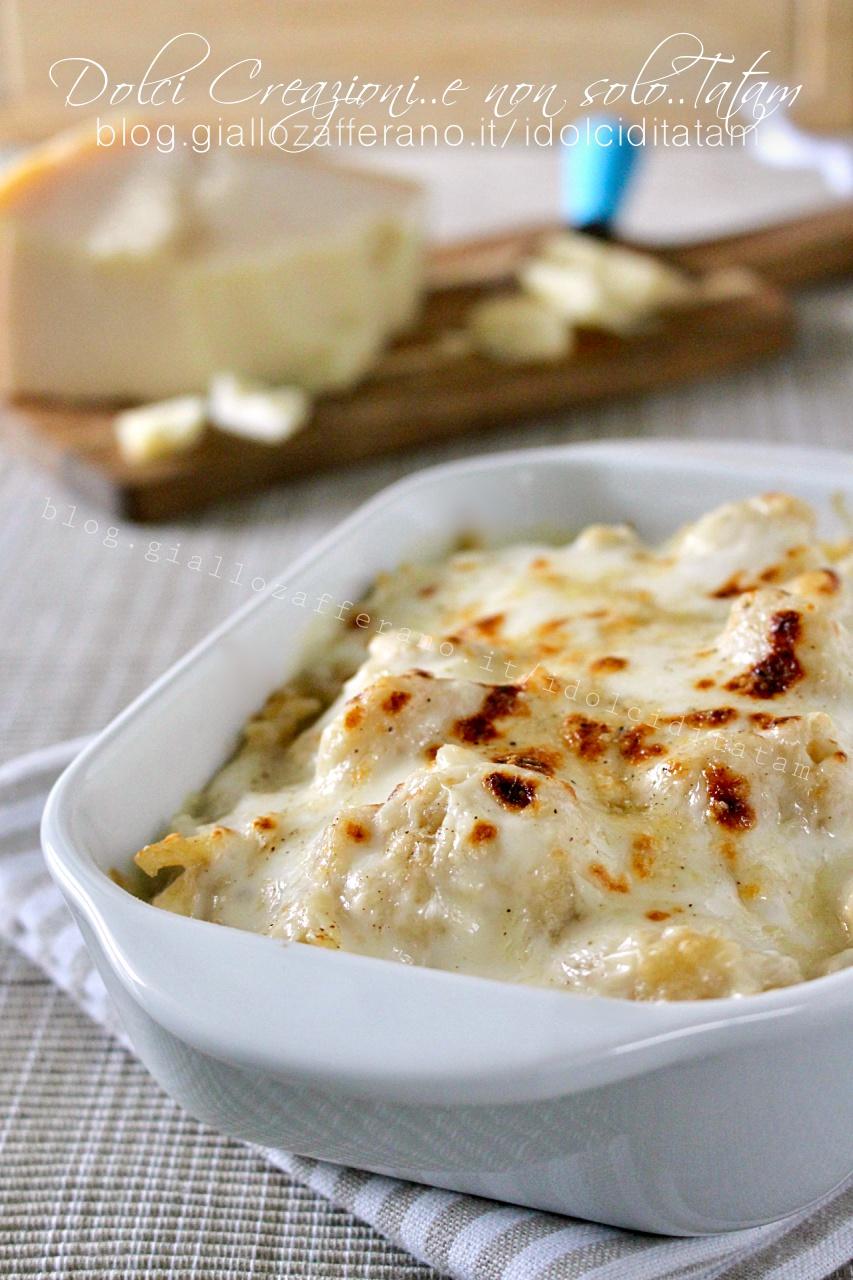Pasta e cavolfiore gratinati al forno