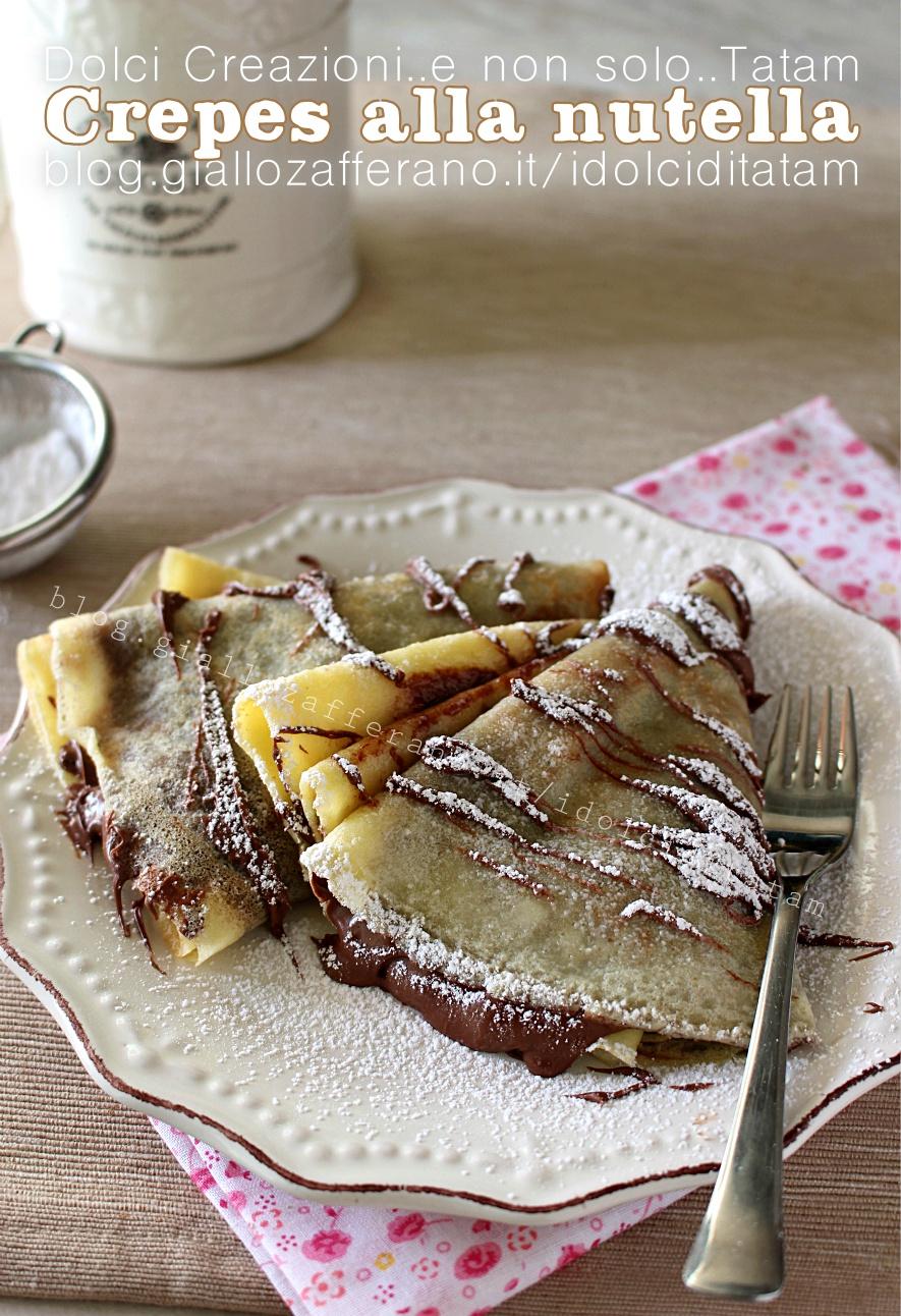 Ricetta crepes dolci con lievito
