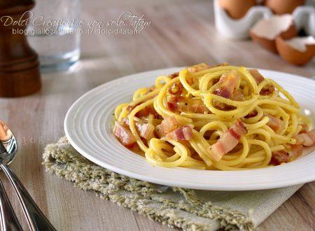 Spaghetti alla carbonara, ricetta della tradizione italiana