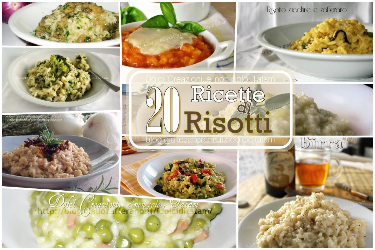 Le migliori 20 ricette di risotti semplici e gustose for Ricette risotti veloci