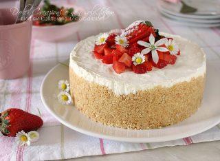 Cheesecake fredda alle fragole
