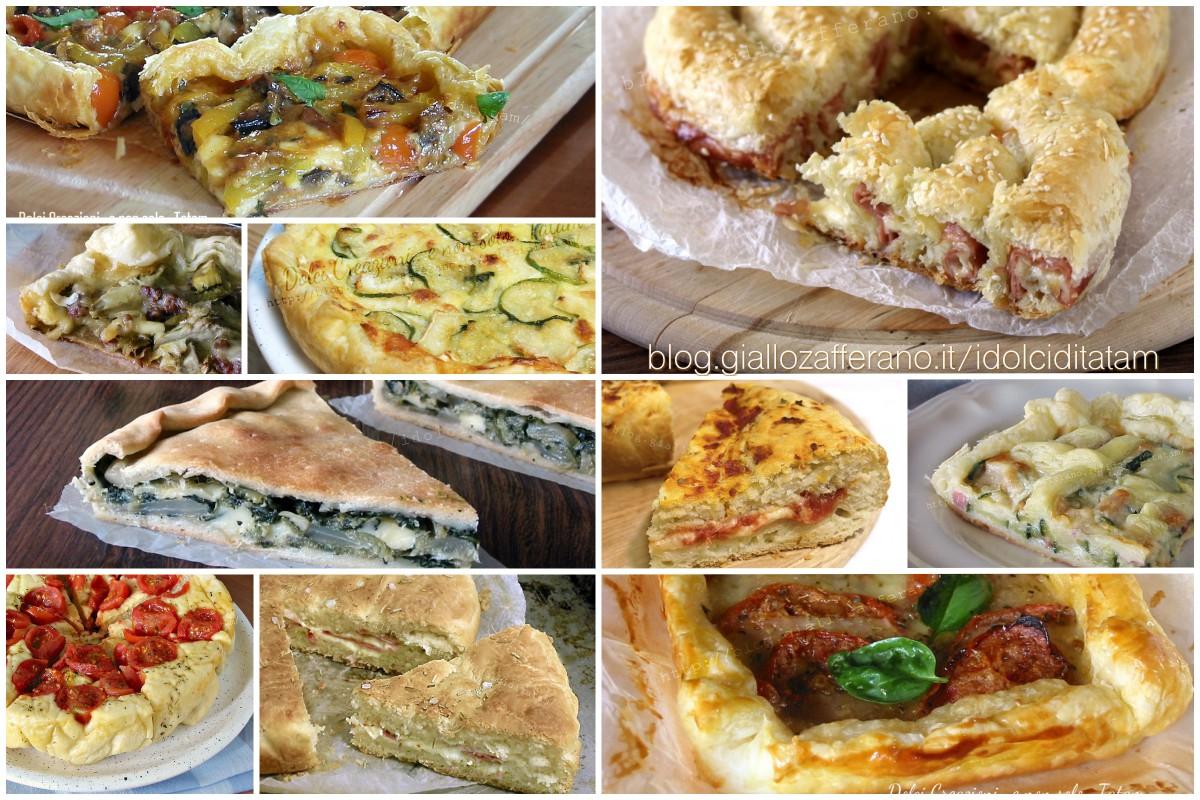 10 torte salate estive facili gustose ed economiche - Torte salate decorate ...