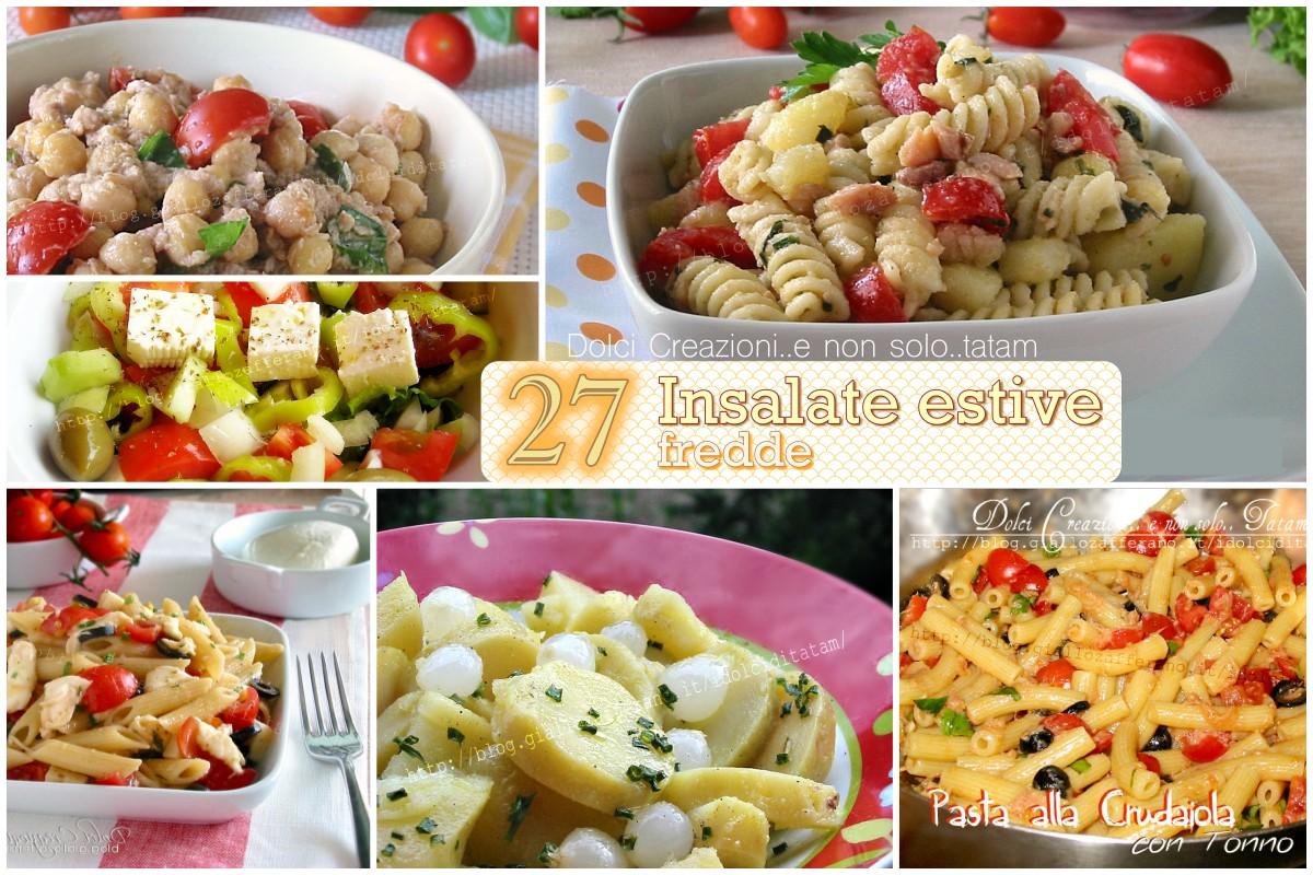 27 ricette veloci di insalate estive fredde facili e veloci for Ricette insalate
