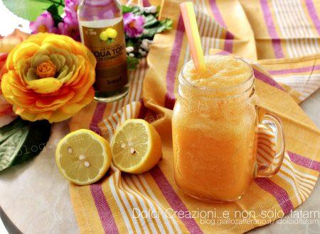 Cocktail analcolico melone e tonica: rinfrescante, effervescente e colorato