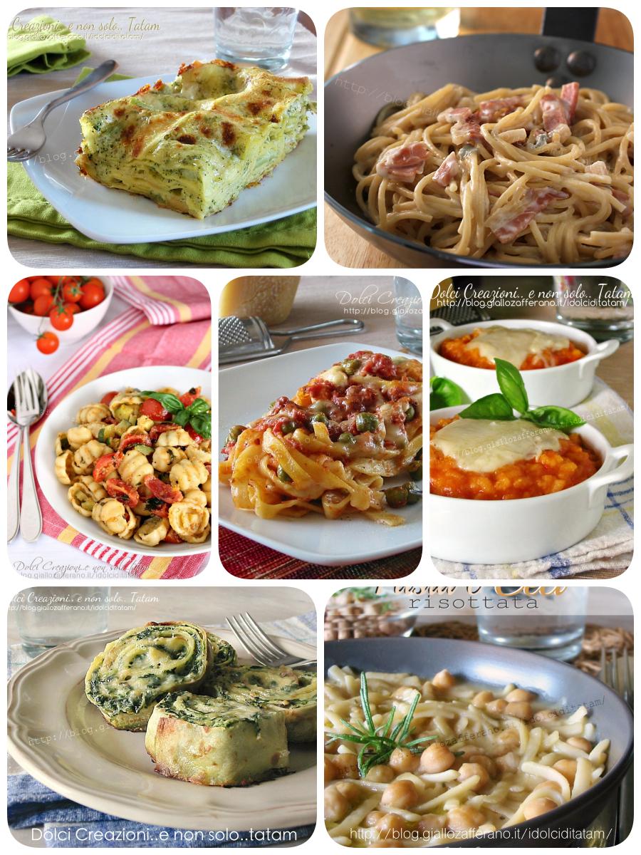 Raccolta di ricette primi piatti facili e gustosi for Primi piatti facili