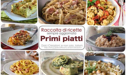 Raccolta di ricette Primi piatti facili e gustosi, aggiornata automaticamente