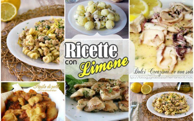5 Ricette salate con il limone