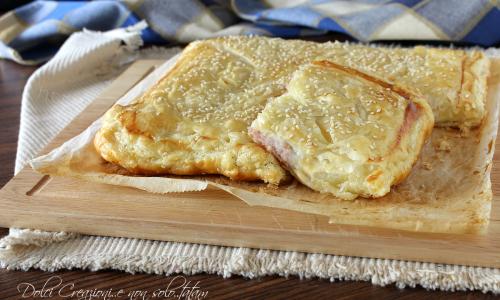 Torta salata patate, prosciutto cotto e mozzarella - con video ricetta