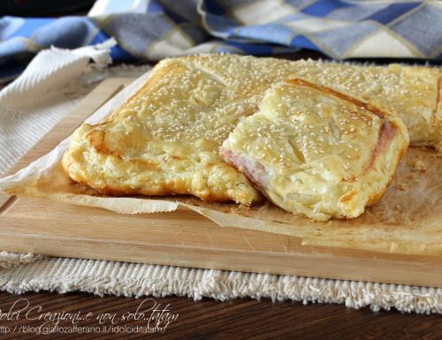 Torta salata patate, prosciutto cotto e mozzarella – con video ricetta