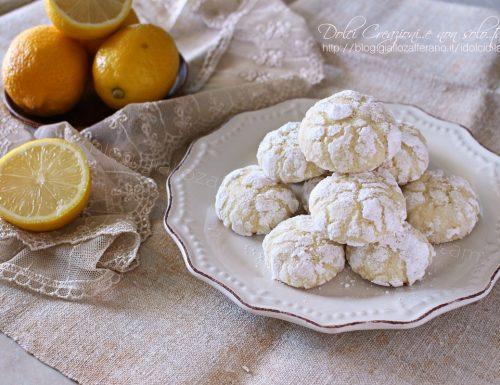 Biscotti morbidi al limone, che si sciolgono in bocca. Idea regalo per Natale