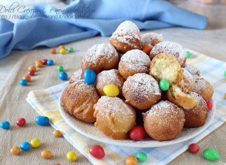 Frittelle alla panna morbidissime, facili e velocissime, perfette per Carnevale.