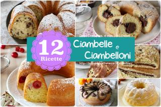 Ricette per dolci Ciambelle e Ciambelloni