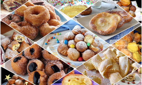 Dolci semplici e veloci per Carnevale, fritti, al forno o alla piastra