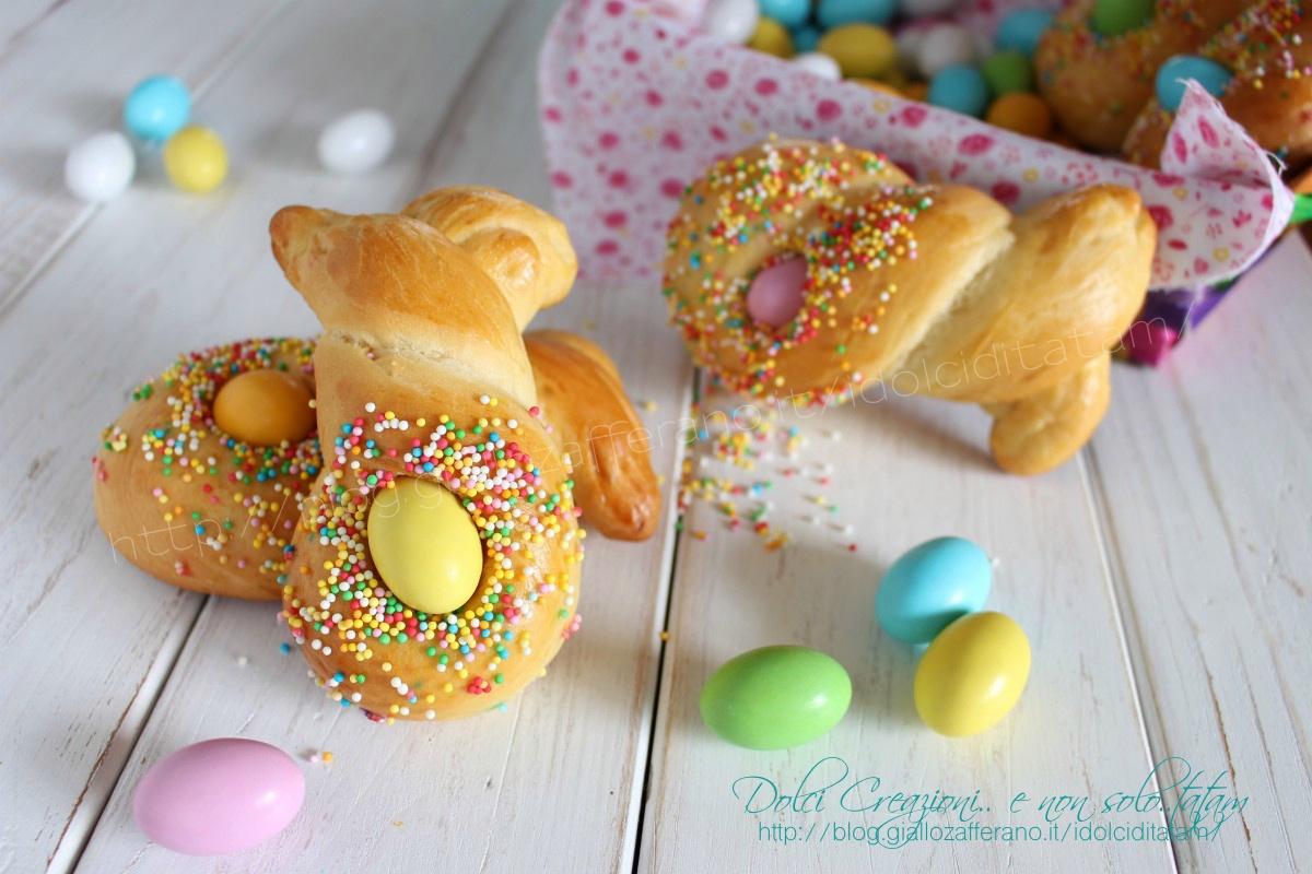 Segnaposto pasquali Coniglietti di Pasqua