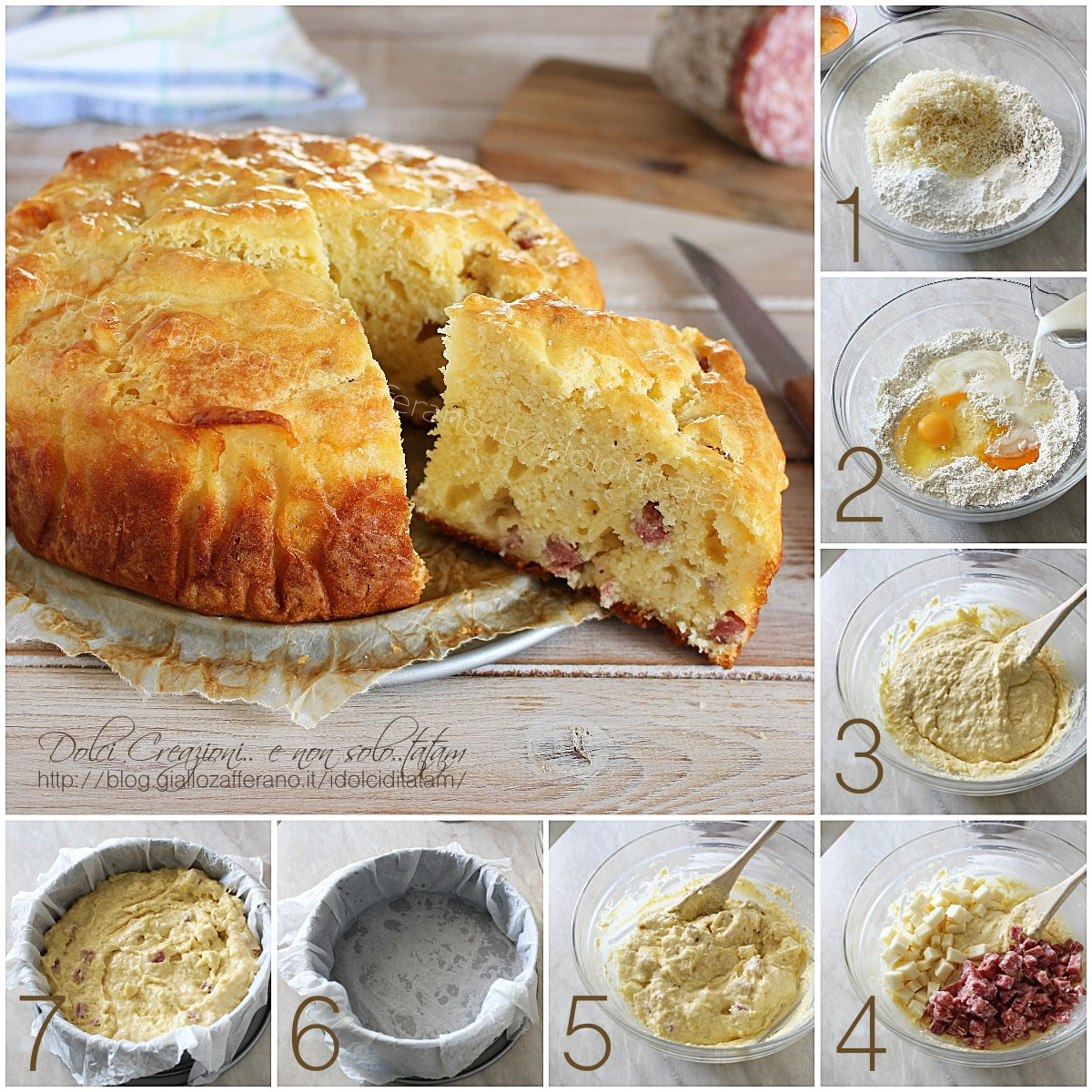 Torta salata veloce
