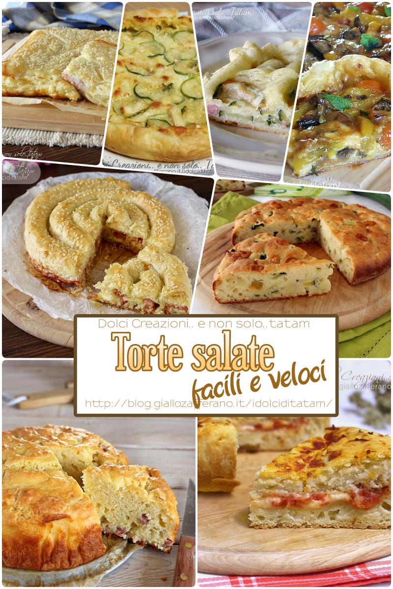 Torte salate facili e veloci per il cestino del picnic goloso for Torte salate facili