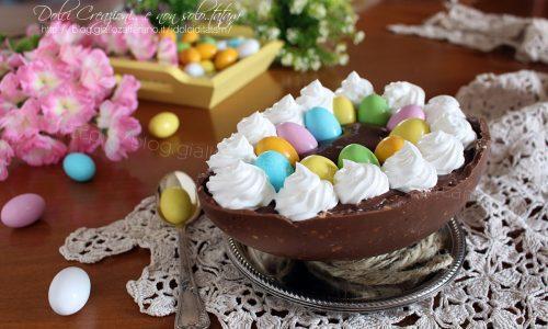 Uovo di Pasqua ripieno, cremoso e facile, una golosità unica! Foto ricetta