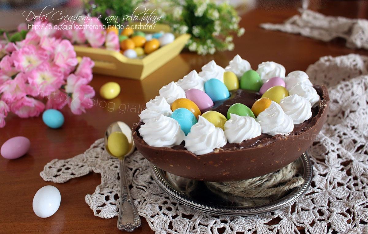 Uovo di Pasqua ripieno