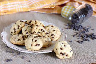 Biscotti veloci alle gocce di cioccolato