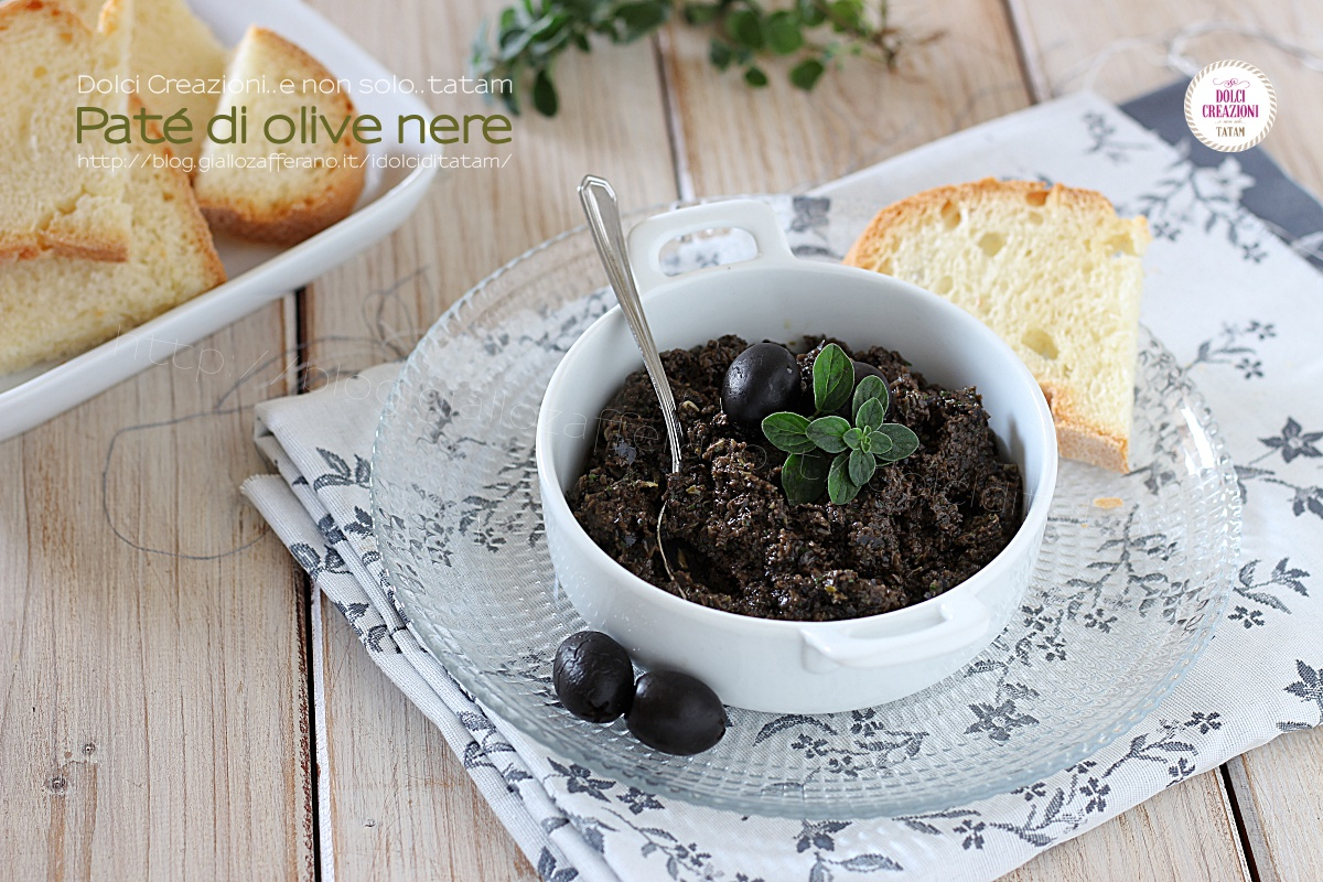 Paté di olive nere