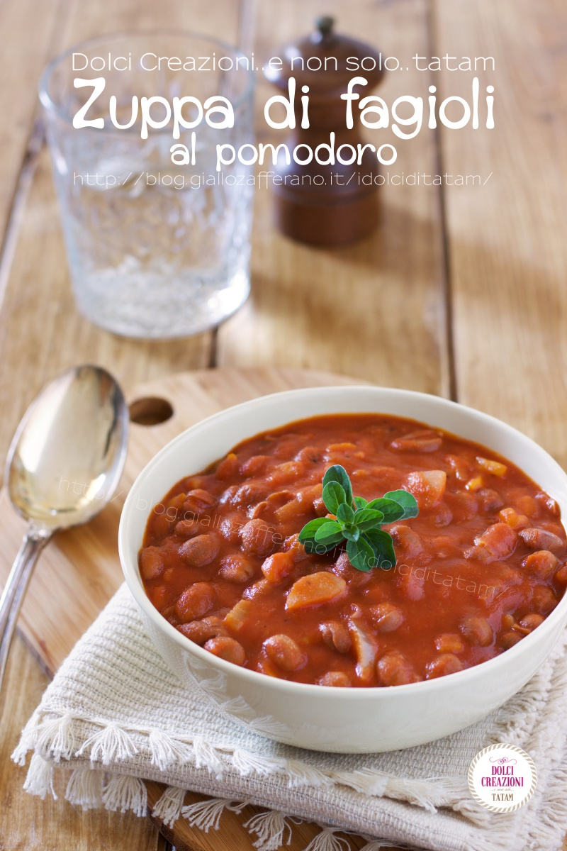 Zuppa di Fagioli al pomodoro