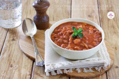 Zuppa di Fagioli al pomodoro, un perfetto comfort food