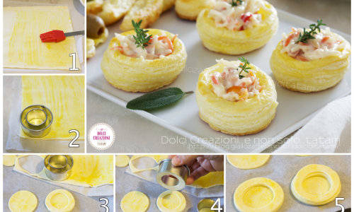 Come fare i vol-au-vent – tutorial fotografico