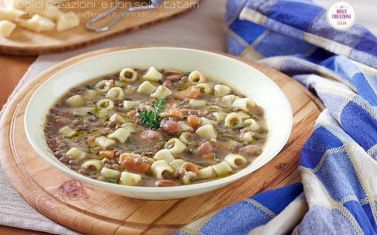 Minestra di lenticchie e fagioli