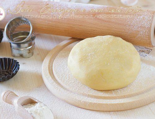 Ricetta Pasta frolla senza lievito, pronta in 5 minuti!