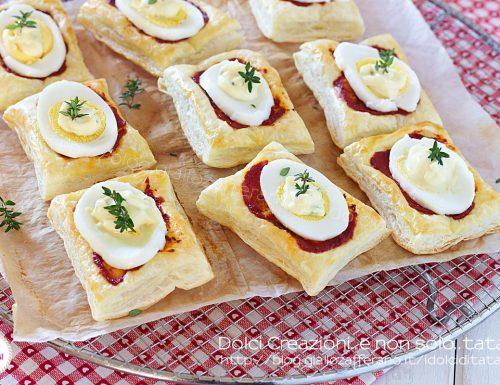 Pizzette di pasta sfoglia veloci