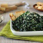 Ricetta spinaci in padella al parmigiano