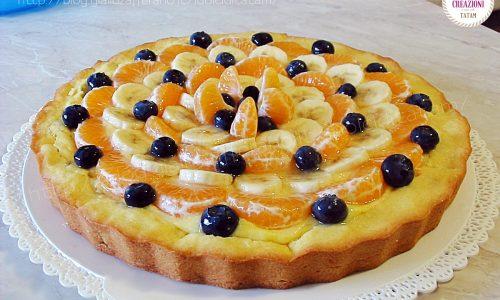 Ricetta per Crostata di frutta invernale e crema pasticciera