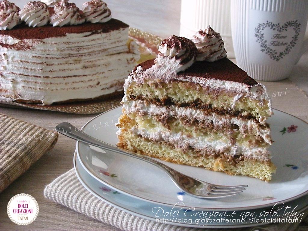 Torta Tiramisu' senza uova crude